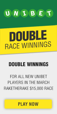 Double race winnings in Unibet this month