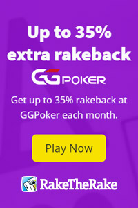Up to 35% rakeback at GGPoker banner